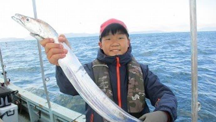 12月28日タチウオ狙い釣果