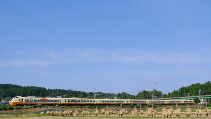 稲小積の風景
