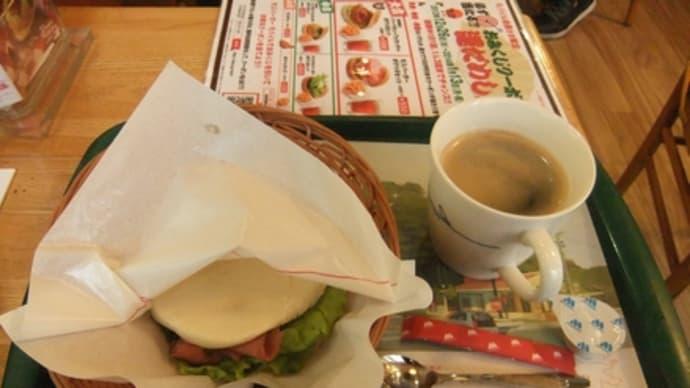 平成25年12月27日の食事(モスバーガーのモーニング)
