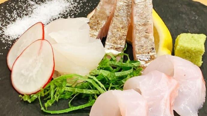 太刀魚の炙りと「塩」めっちゃ合います!!魚魚屋 半兵衛