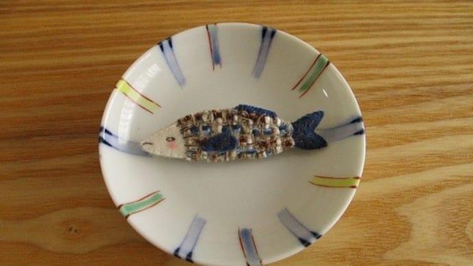 お魚ブローチ