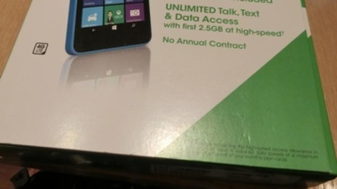 スマートフォン-Lumia640を買ったよ(その1)