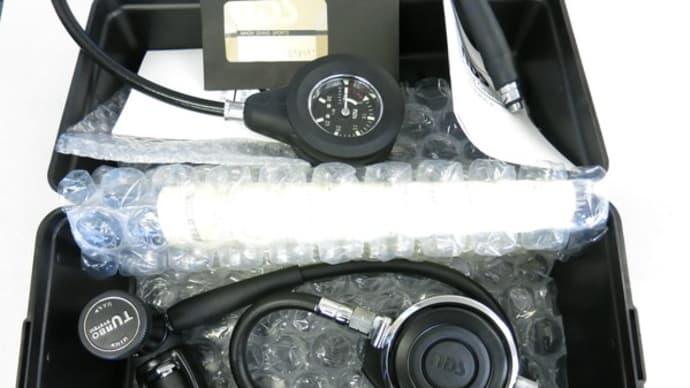 NDSブラックターボVACレギュレータ&シングル残圧計