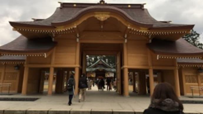 初詣:新潟縣護国神社