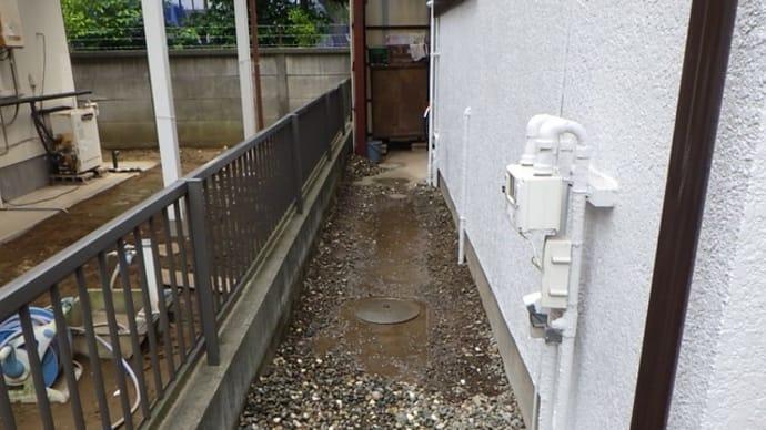 水が湧いてくる漏水修理・・・千葉市