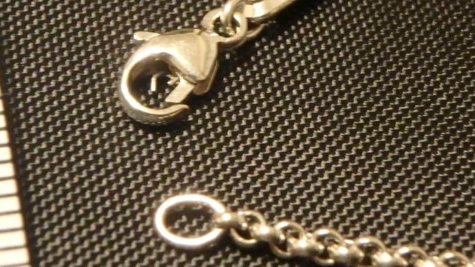 ショパールのネックチェーンの金具修理
