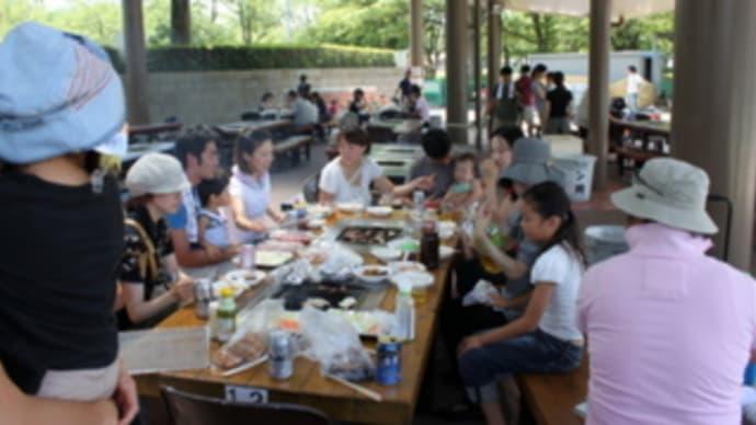BBQ in 万博公園