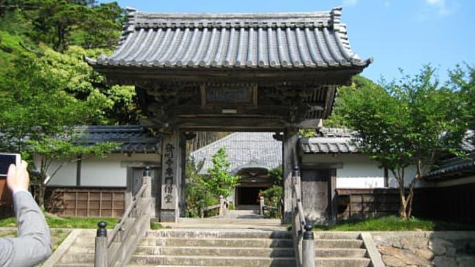 昨日小浜市発心寺様に寄りました
