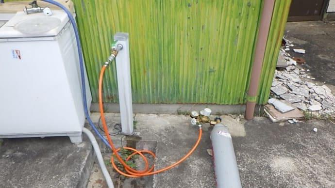 工場での漏水調査・・・大多喜町