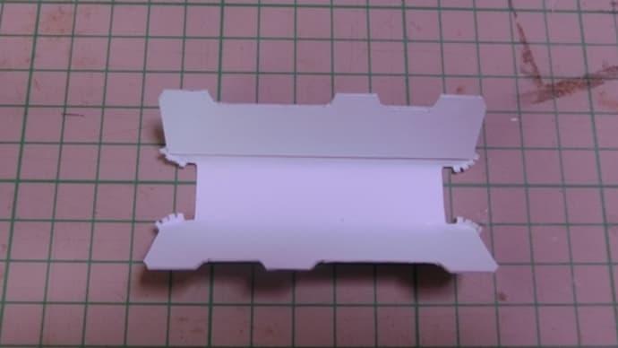 横浜市電1600形のペーパーNゲージ模型作り(その3)1600形2次製作