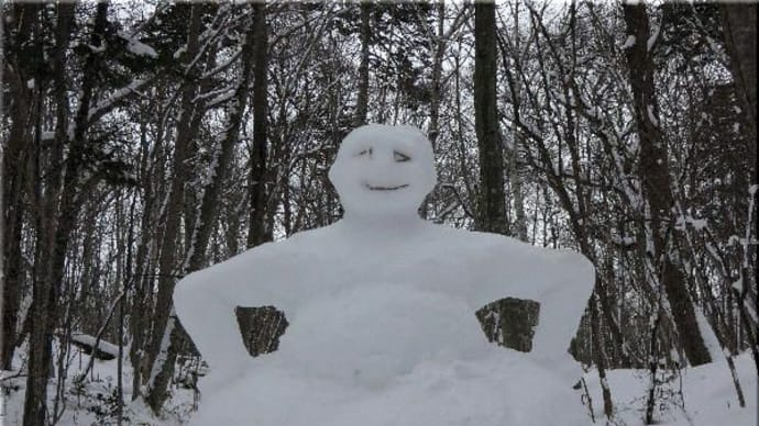 雪像が!?