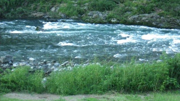 6月21日 那比川・亀尾島川で鮎釣り!