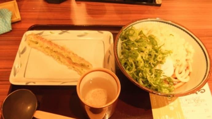 23年12月10日の食事(東京駅地下街で讃岐うどん)