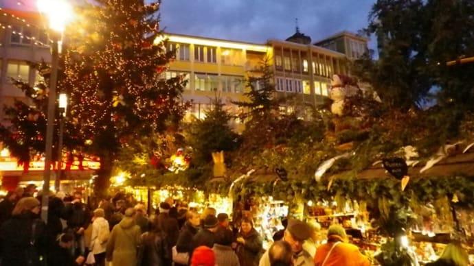 クリスマスマーケットに行こう。