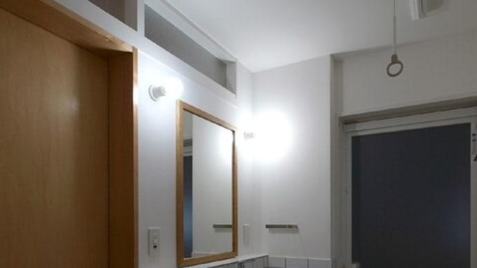築50年の家リノベ-ほぼ完成写真8(洗面脱衣)