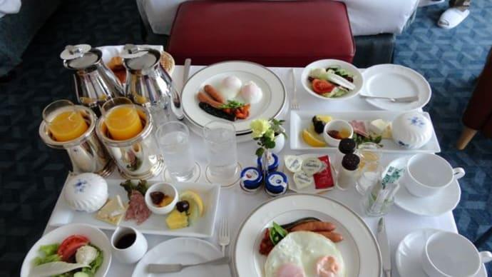 ザ・プリンスパークタワー東京*朝食ルームサービス♪