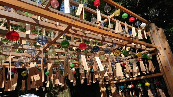 氷川神社の夏限定「縁結び風鈴」
