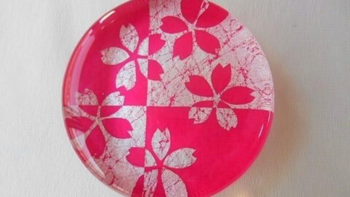 桜のペーパーウェイト