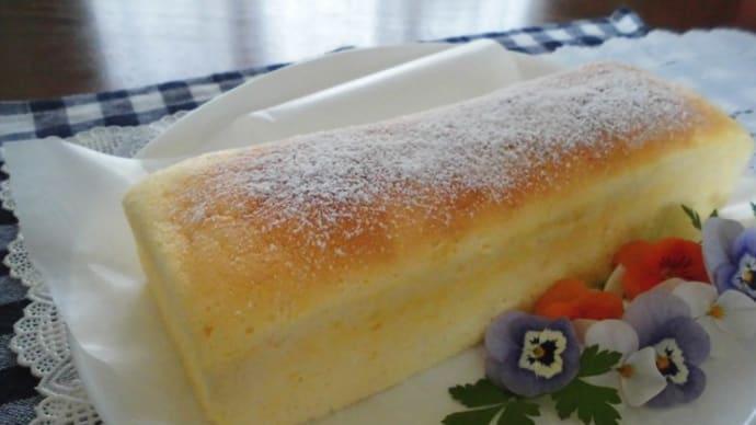 レモン多めのスフレヨーグルトケーキと八重桜のお祭り。