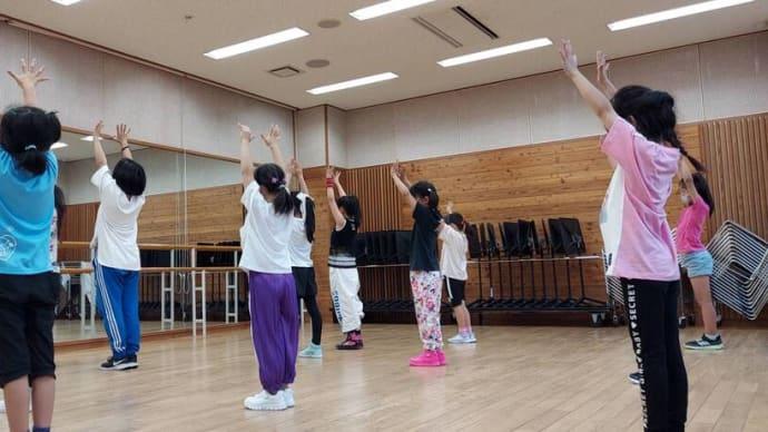 「まいうさんのダンス教室@佐久平」順調にスタートしました!