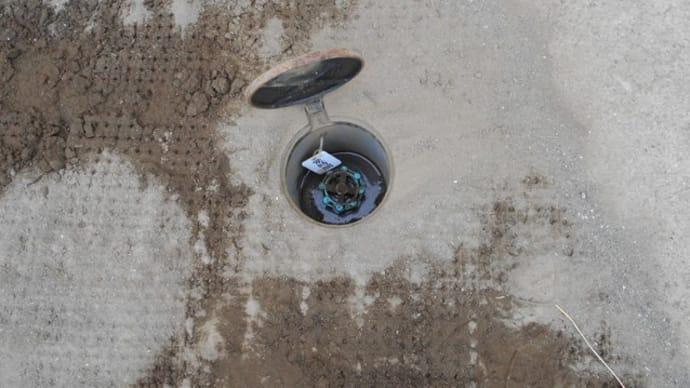ゲートバルブのグランド部分から水漏れ・・・千葉市