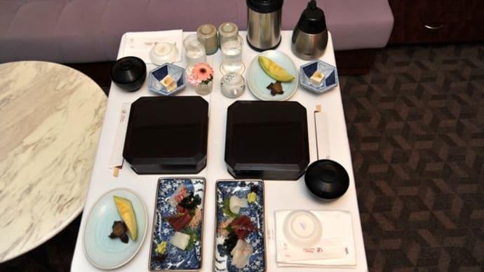 ザ・プリンスパークタワー東京*ルームサービスでお寿司♪