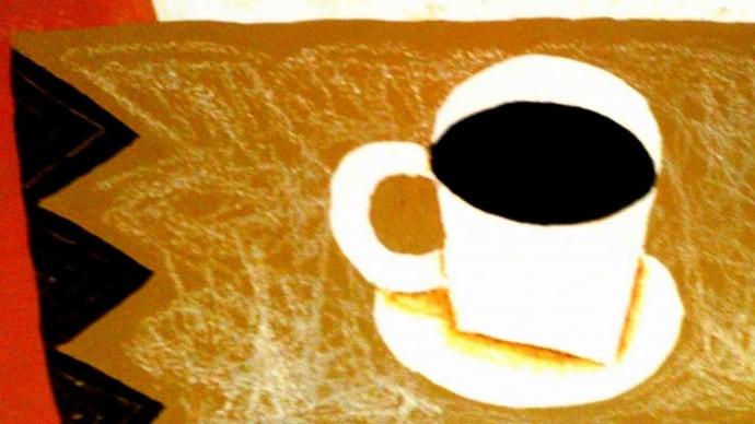 今夜は、缶コーヒーだけど