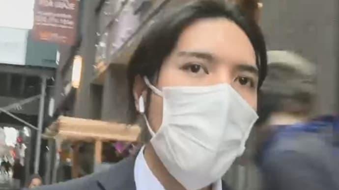 【独自】小室圭さんをニューヨークで直撃一時帰国直前に長髪姿婚姻届提出へ