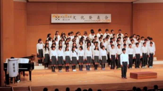 培良中 文化発表会 2016