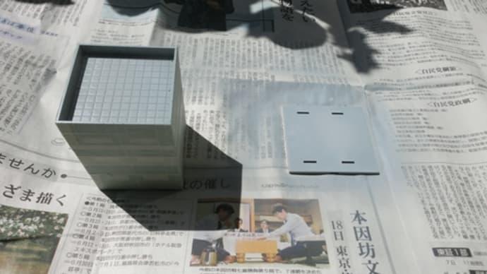 鉄道模型-Nゲージ路面モジュール作り(その6・ストラクチャー「トミックス・スクエアビル後編」)