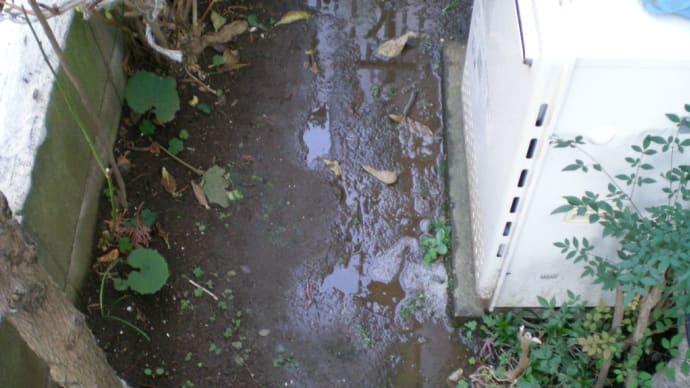 差し込み不足による漏水・・・・千葉市