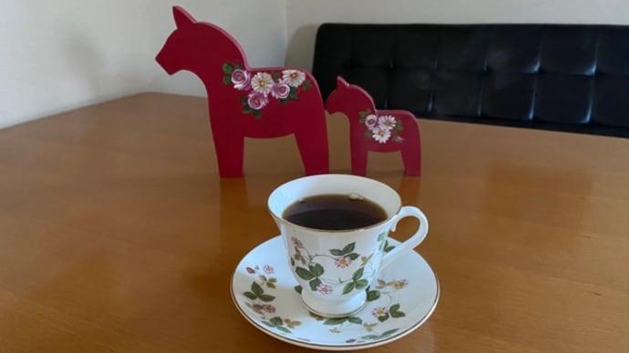 お馬の親子とコーヒー