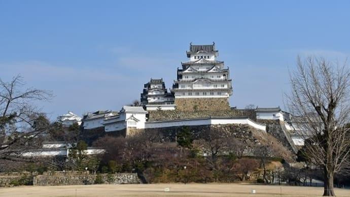 姫路城('21.2.21) 写真