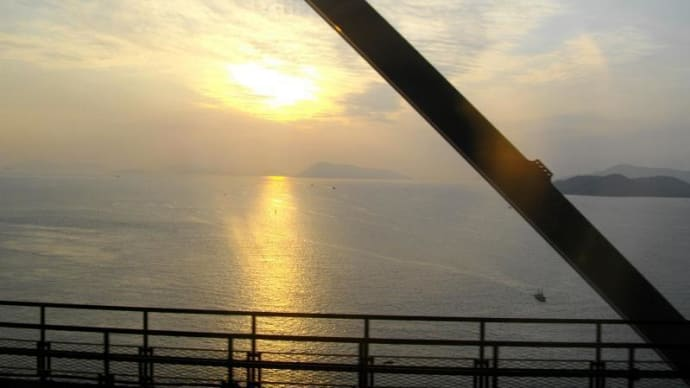 瀬戸大橋からのスナップ