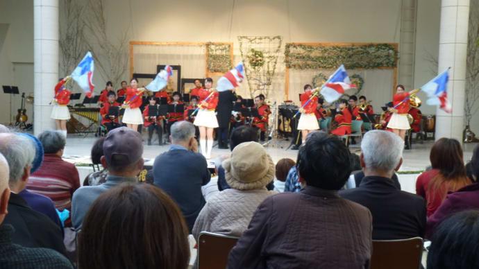 島根県警察音楽隊ふれあいコンサート。
