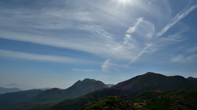 くじゅう、ピンク色の星生山へp2(沓掛山から扇ケ鼻分岐まで)