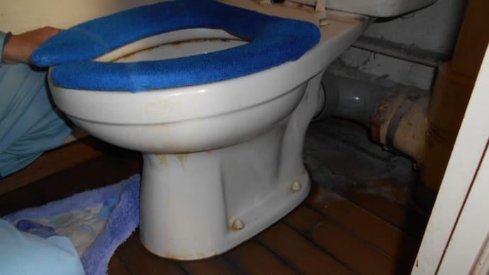 トイレの水漏れ調査