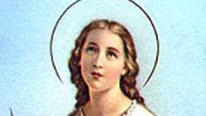 聖アグネスおとめ殉教者   St. Agnes V. et M.