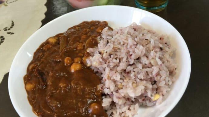 豆カレー雑穀ライス
