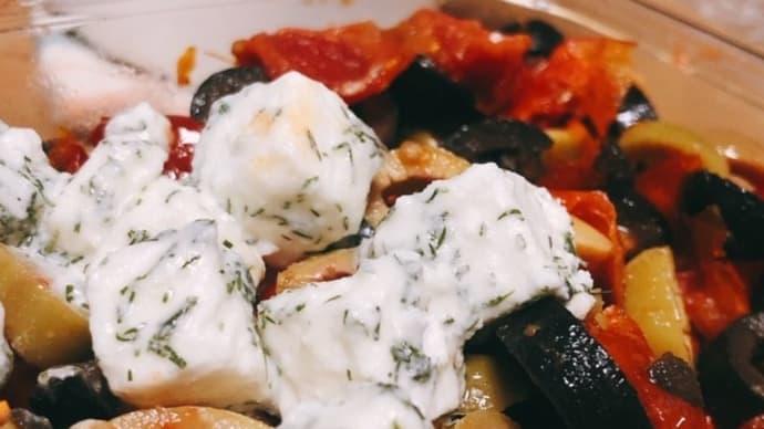 成城石井のギリシャフェタチーズとセミドライトマトマリネ