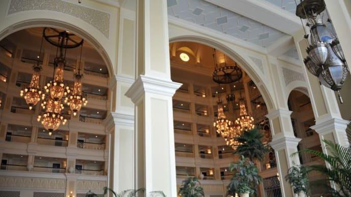 ランドホテルのロビー♪