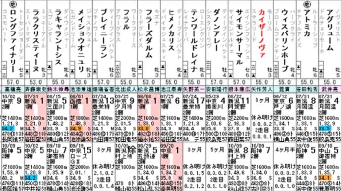 【カイザーノヴァ】今週出走あるのか!? 10/23新潟 寺泊特別・特別登録