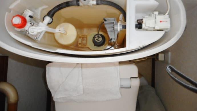 トイレの水漏れ修理・・・八千代市