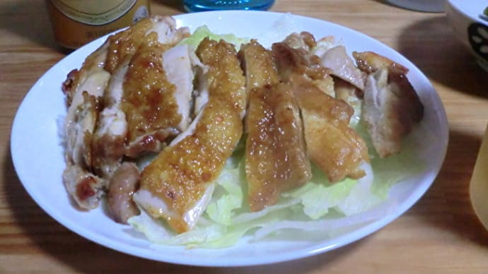 おすすめの酒の肴『ごくうま鶏照り』 📷家飲み07-01