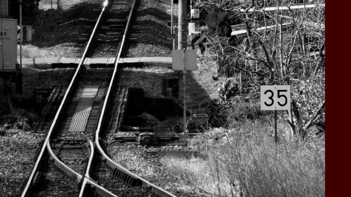 真冬のJR徳島線