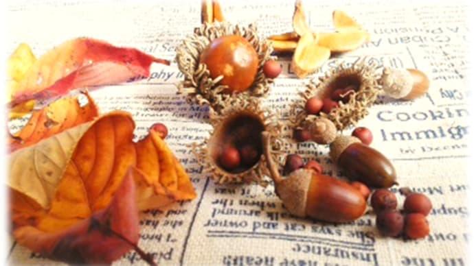 秋の贈りもの