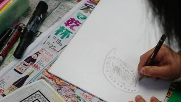 スチレン版画カレンダ- 前橋校