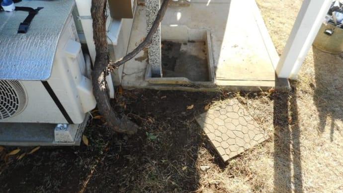外流しの下で漏水修理・・・千葉市