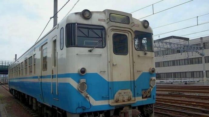待機場所から高松駅に入線