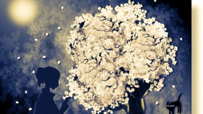 画像遊び♪(桜)
